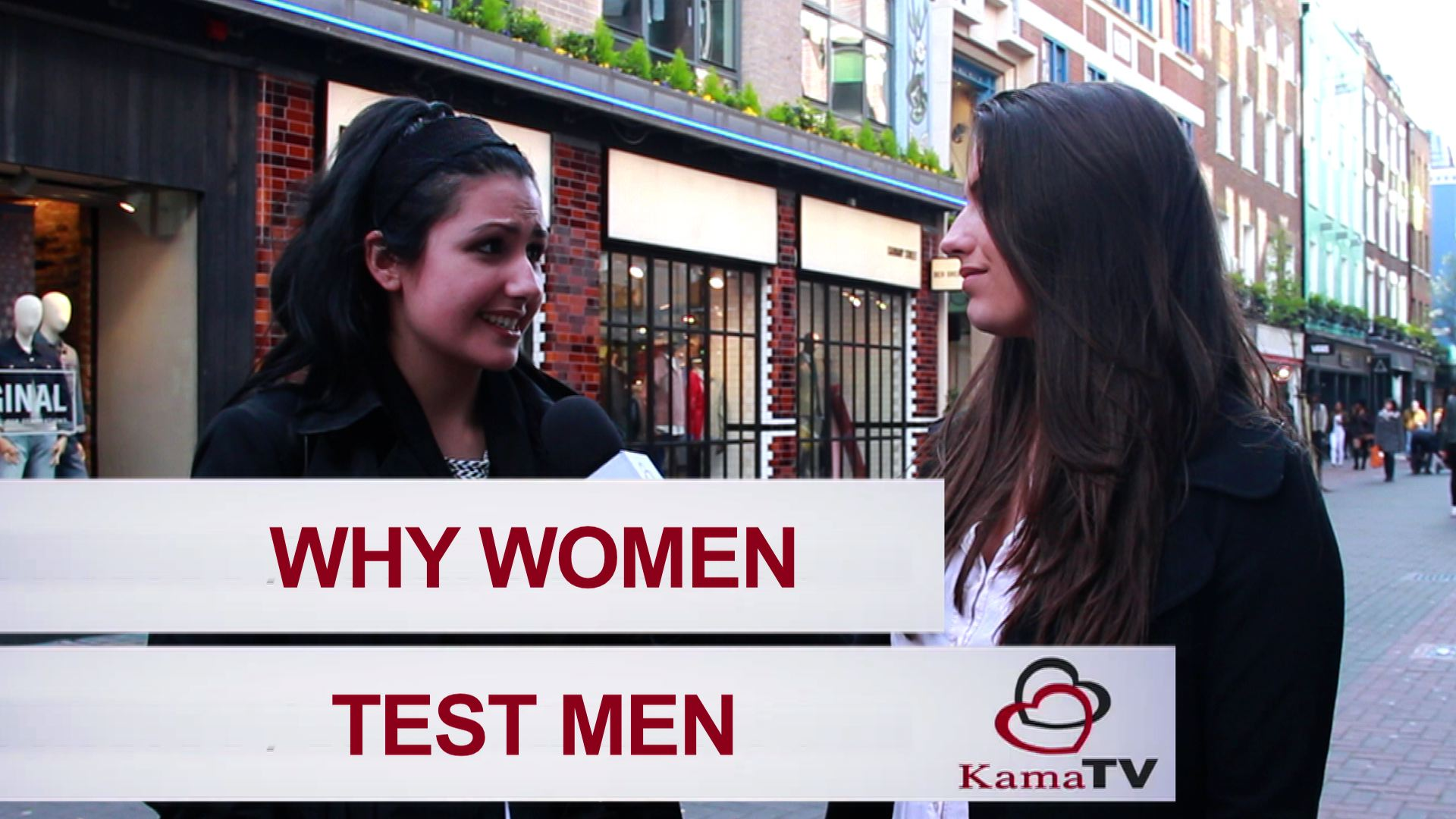 why women test men