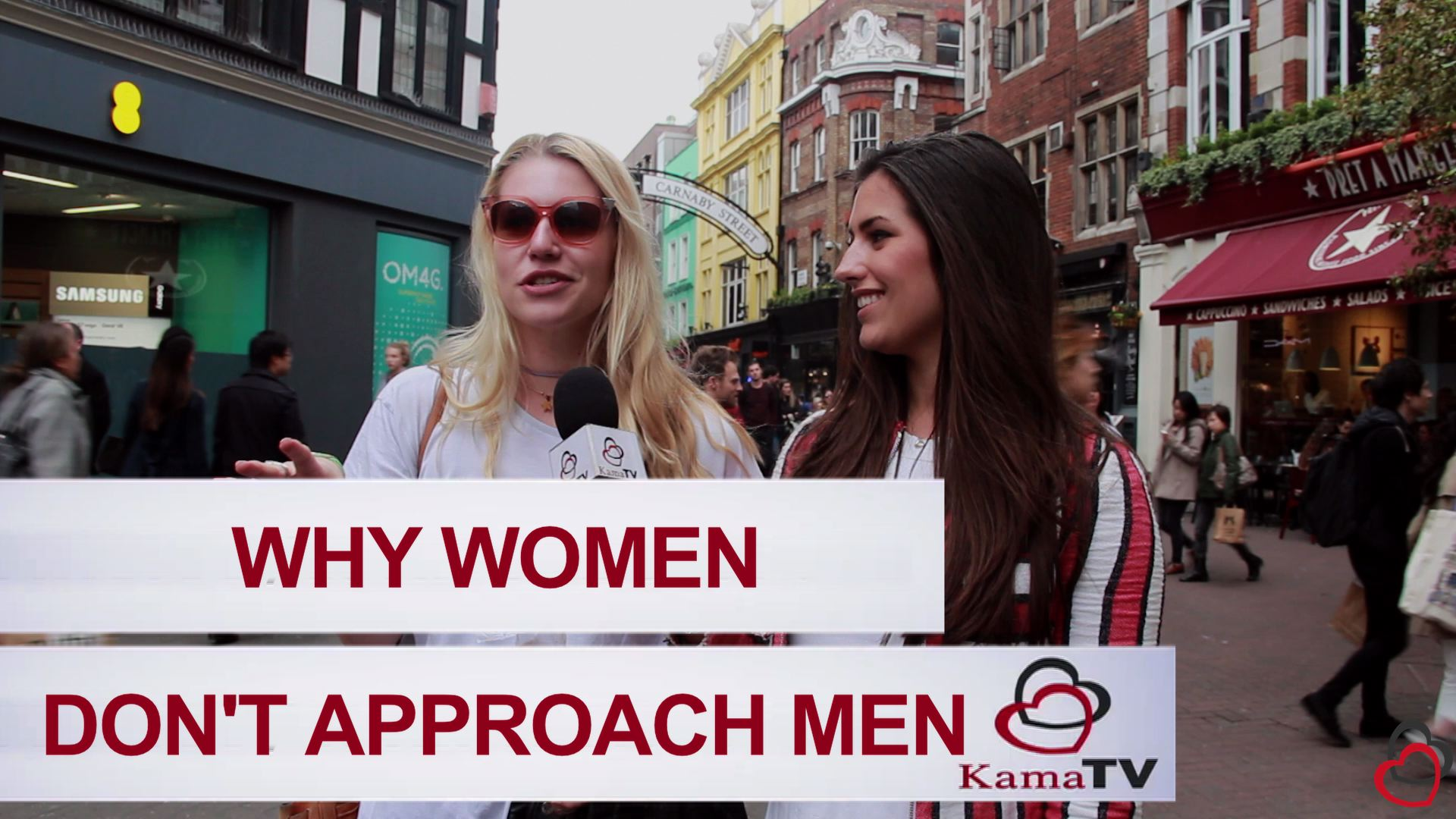 why women don't approach men