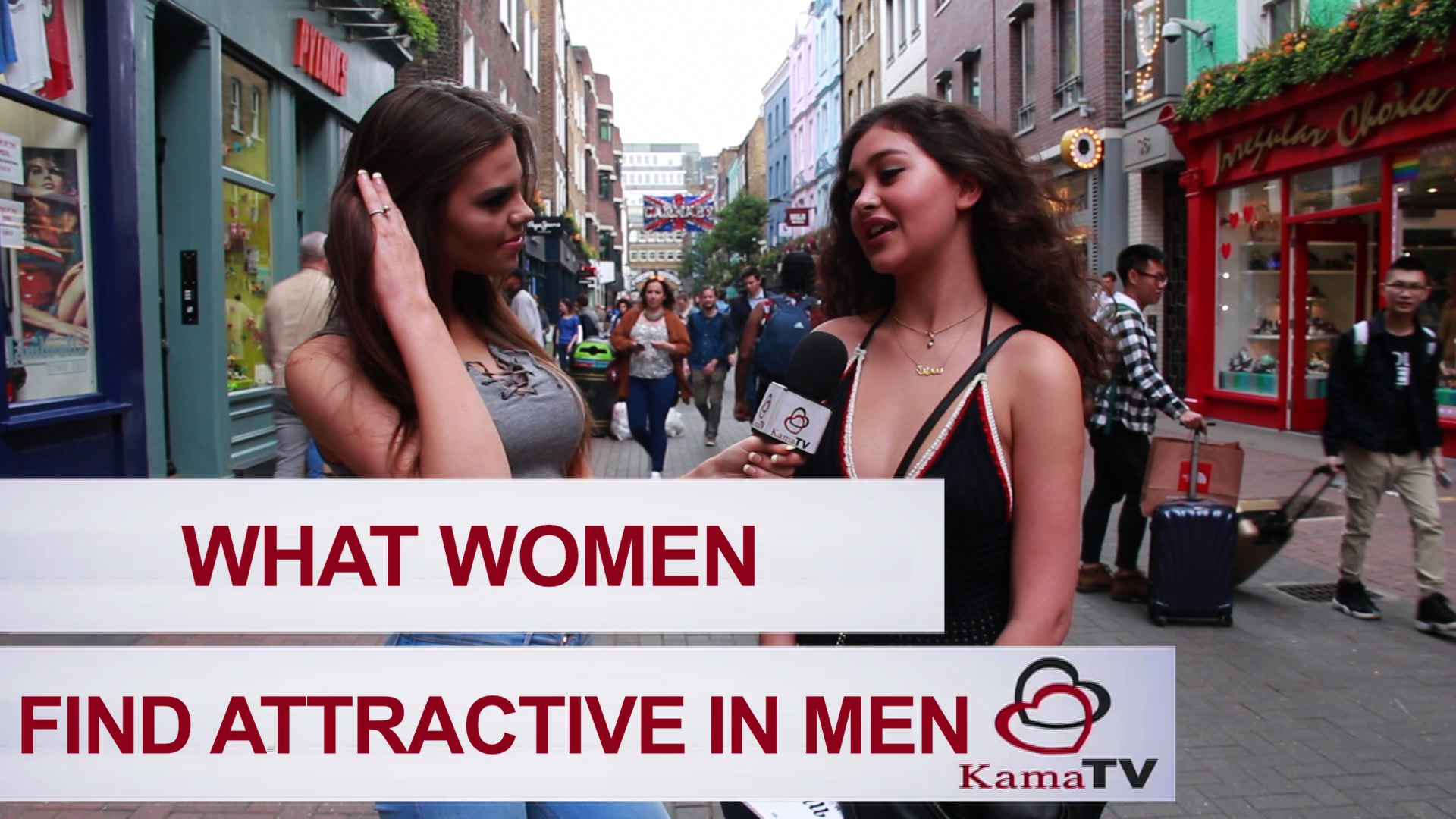 What women find attractive in men