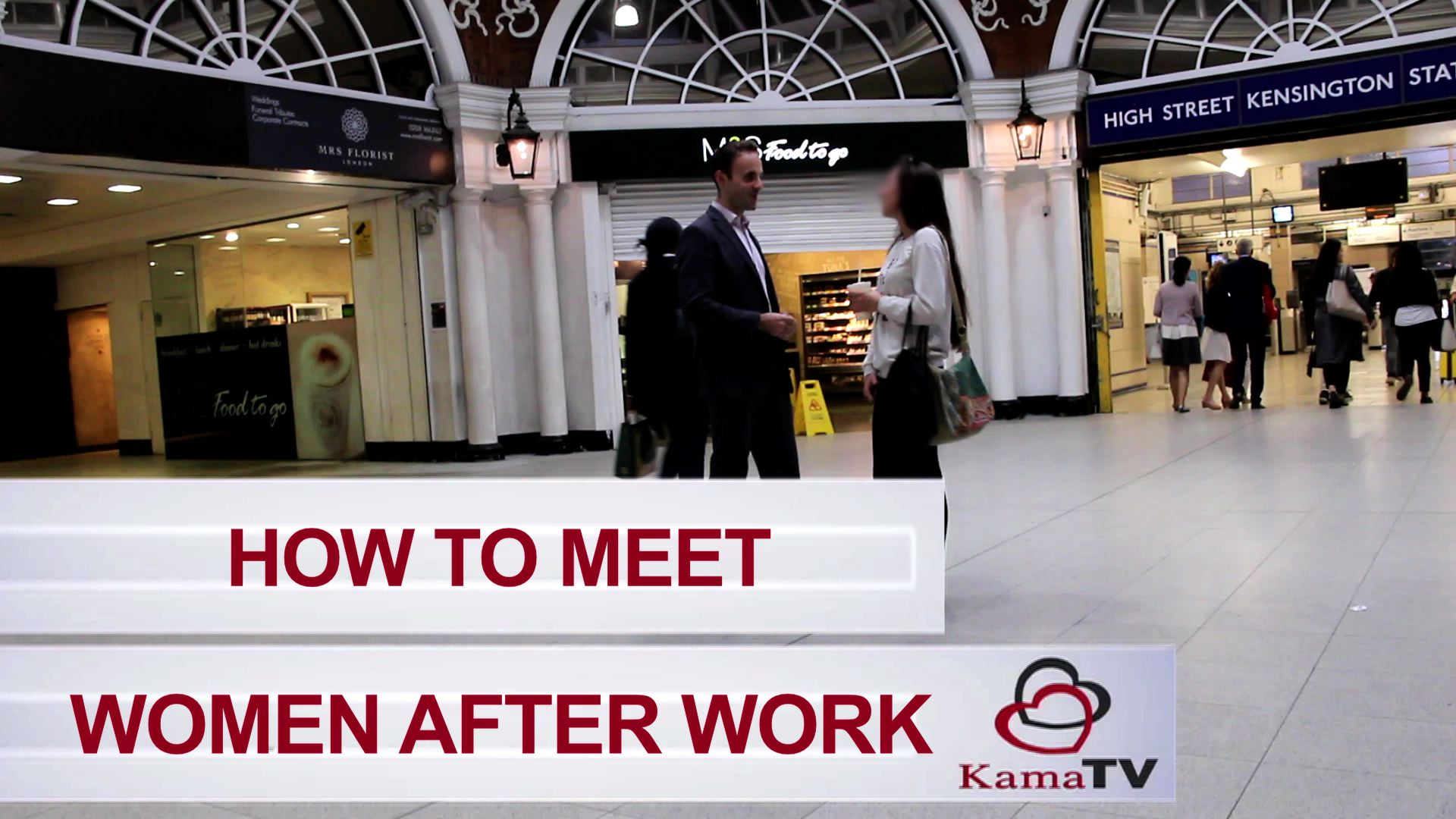 how to meet women after work