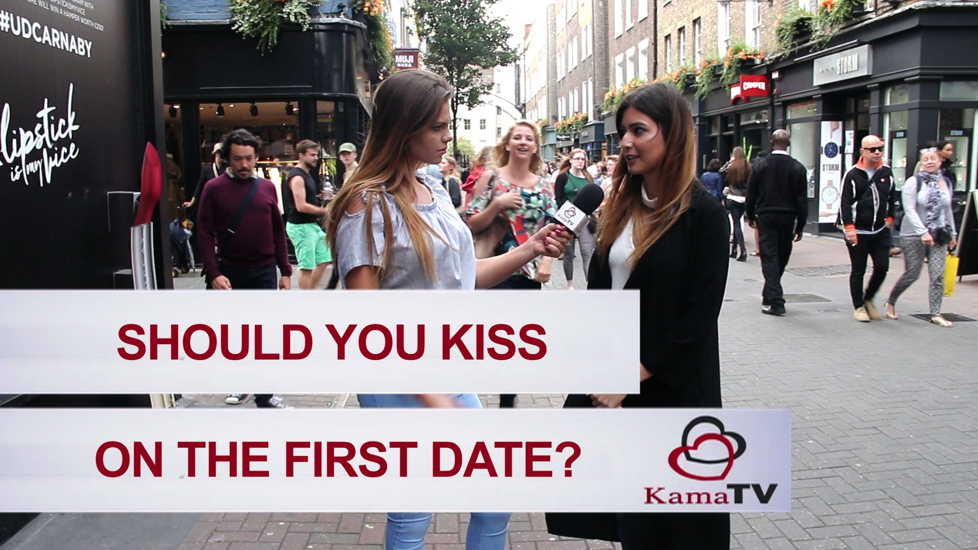 Dating rules first kiss