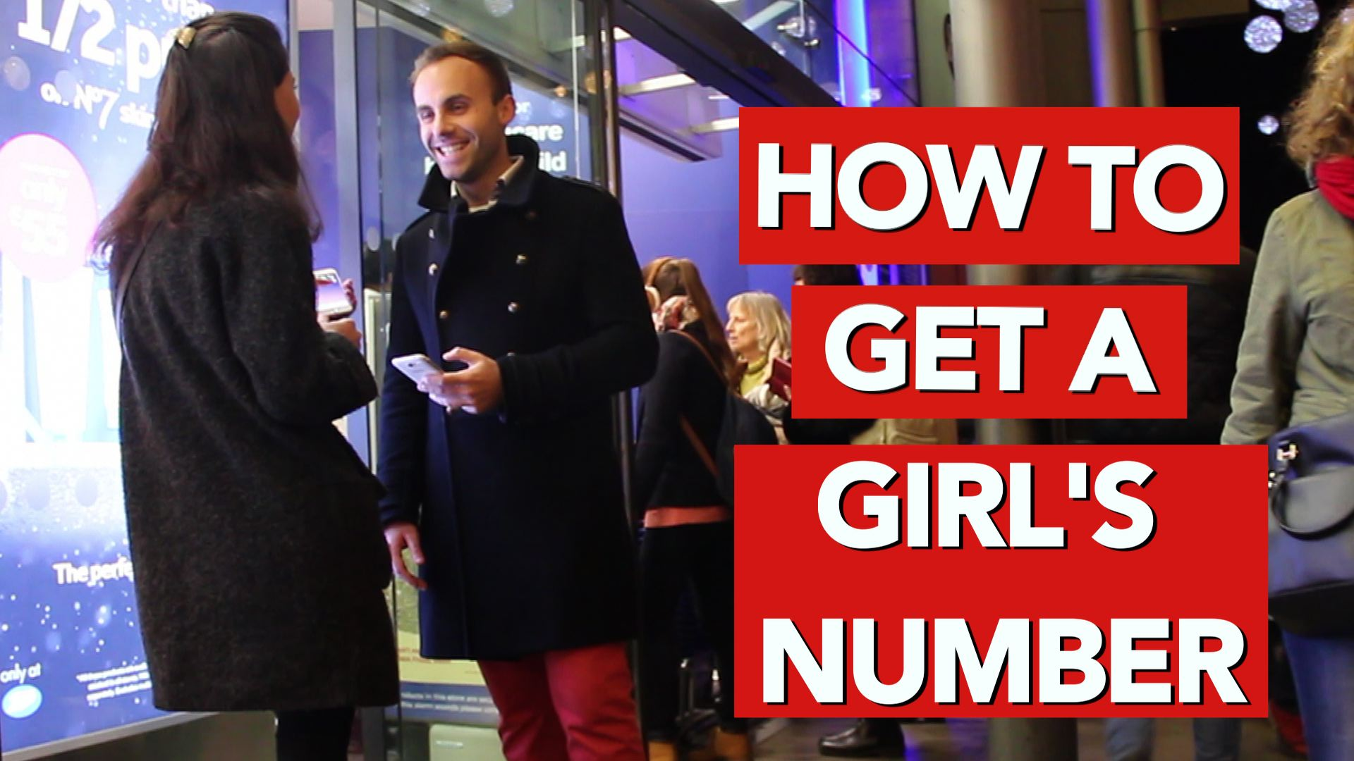 How to get a girls number