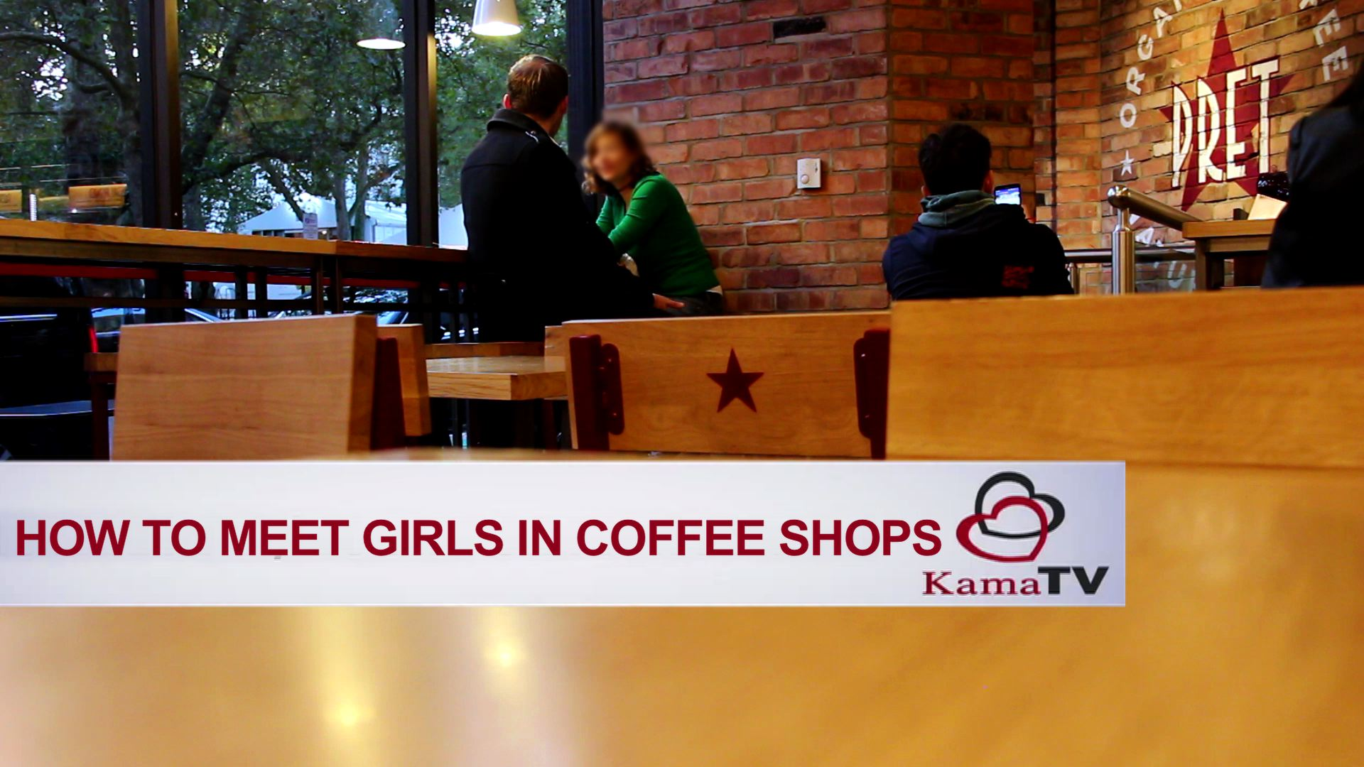 How to approach a girl in coffee shop