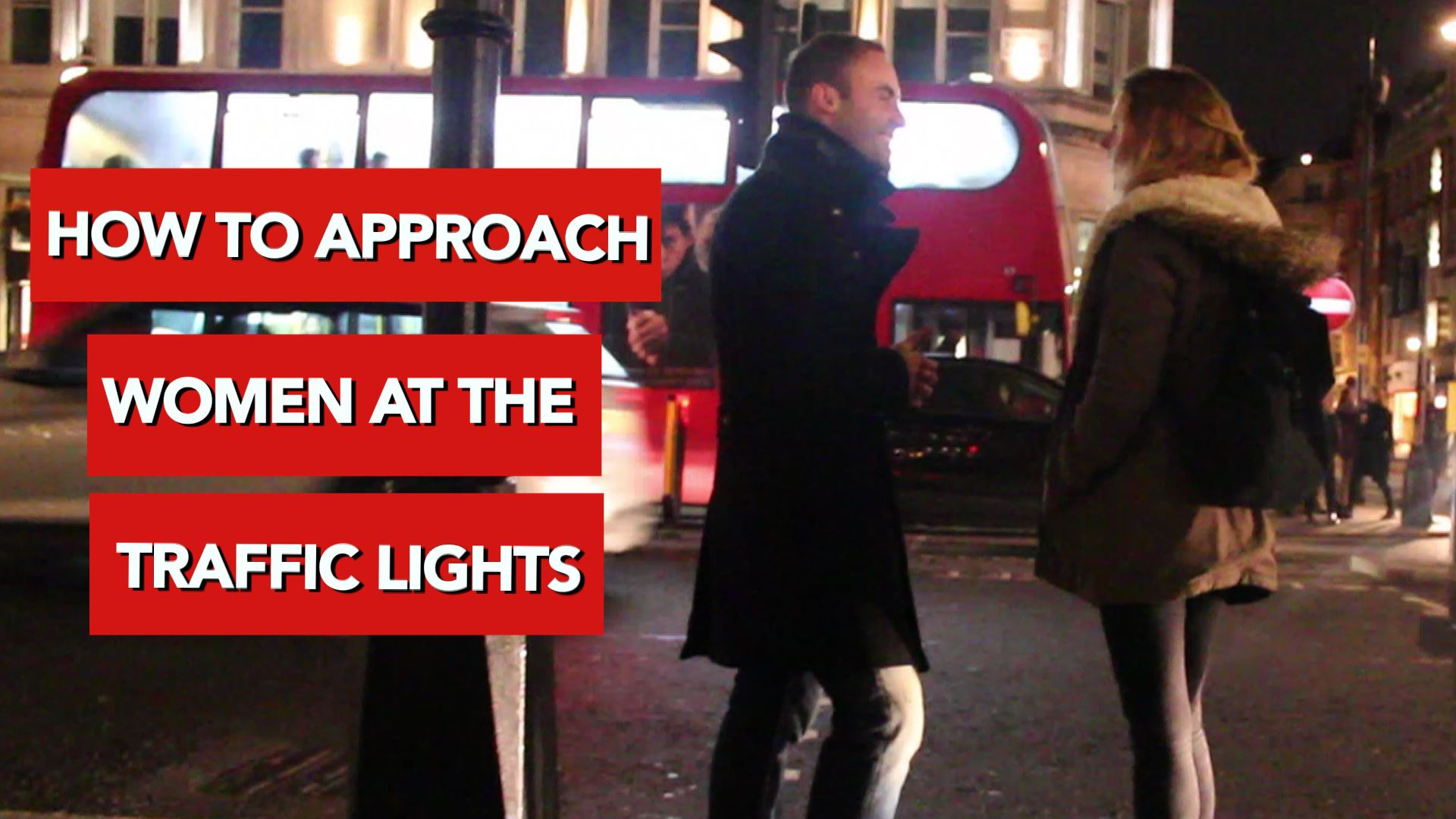 How to approach women at traffic lights