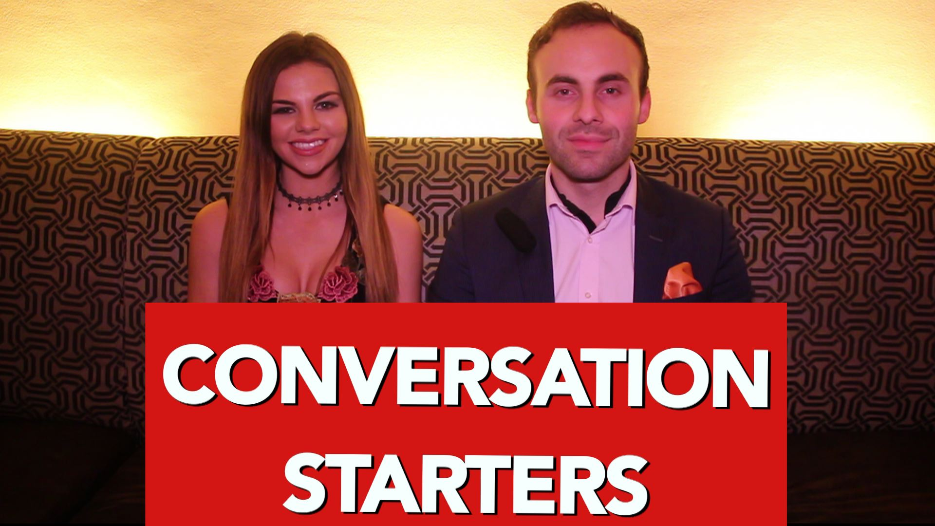 Dating conversation starters with a guy