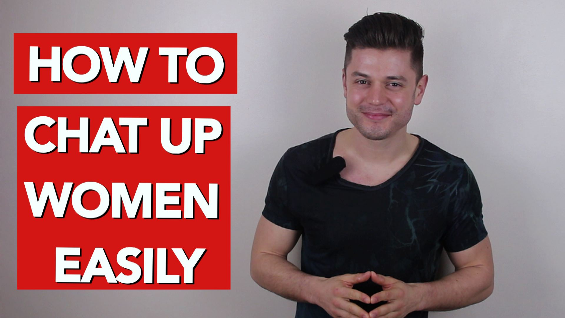 How to chat up women easily