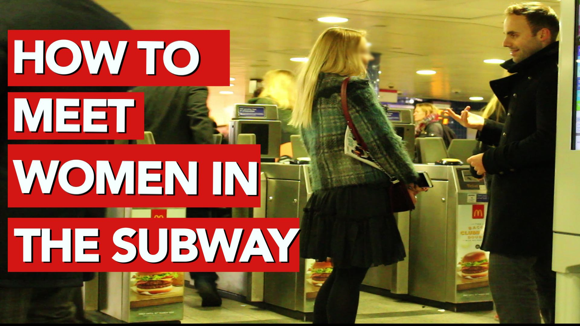 How to meet women in the subway