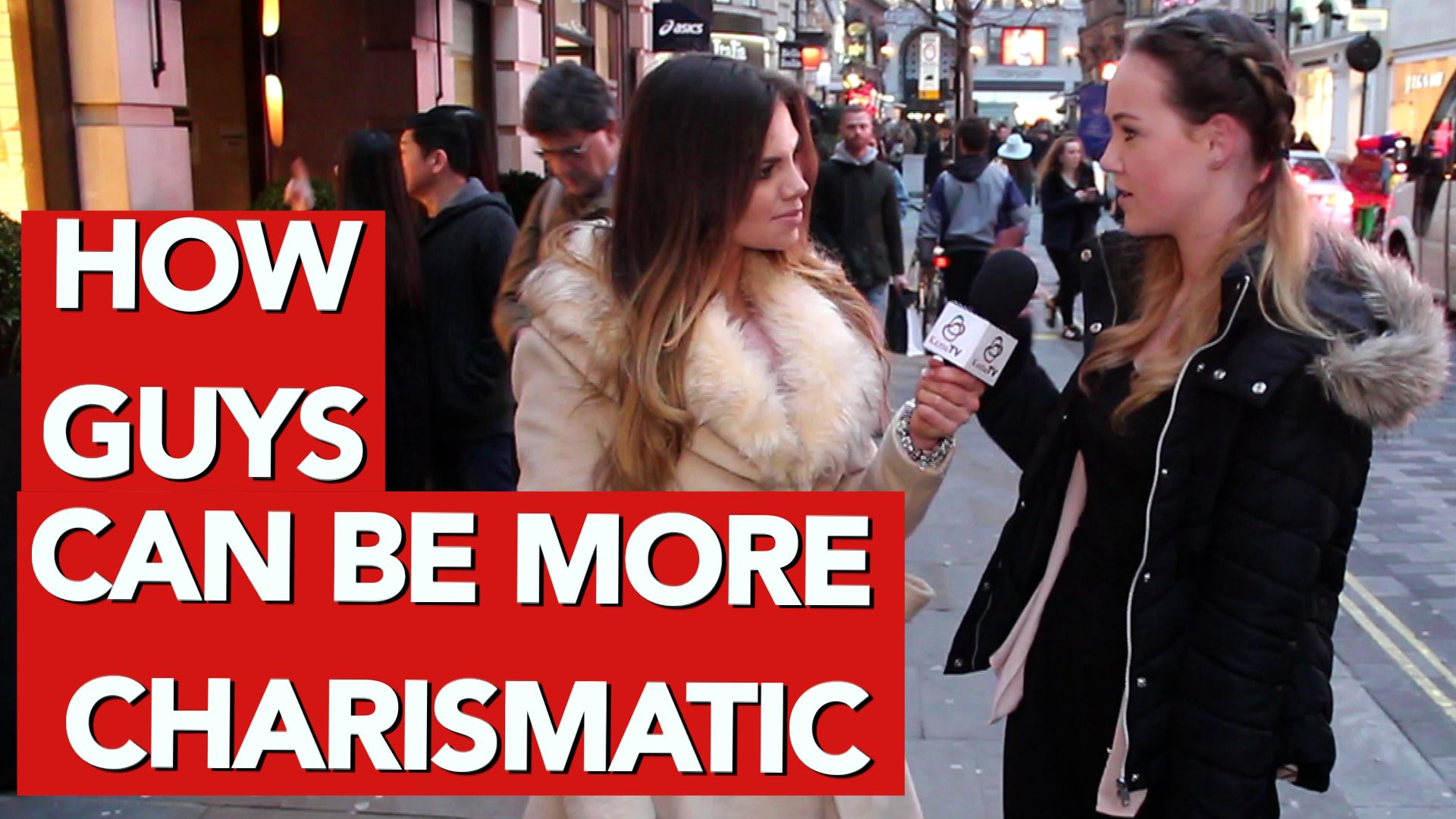 how guys can be more charismatic