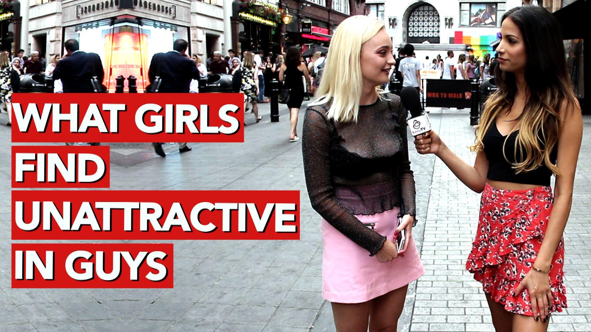 what girls find unattractive in guys