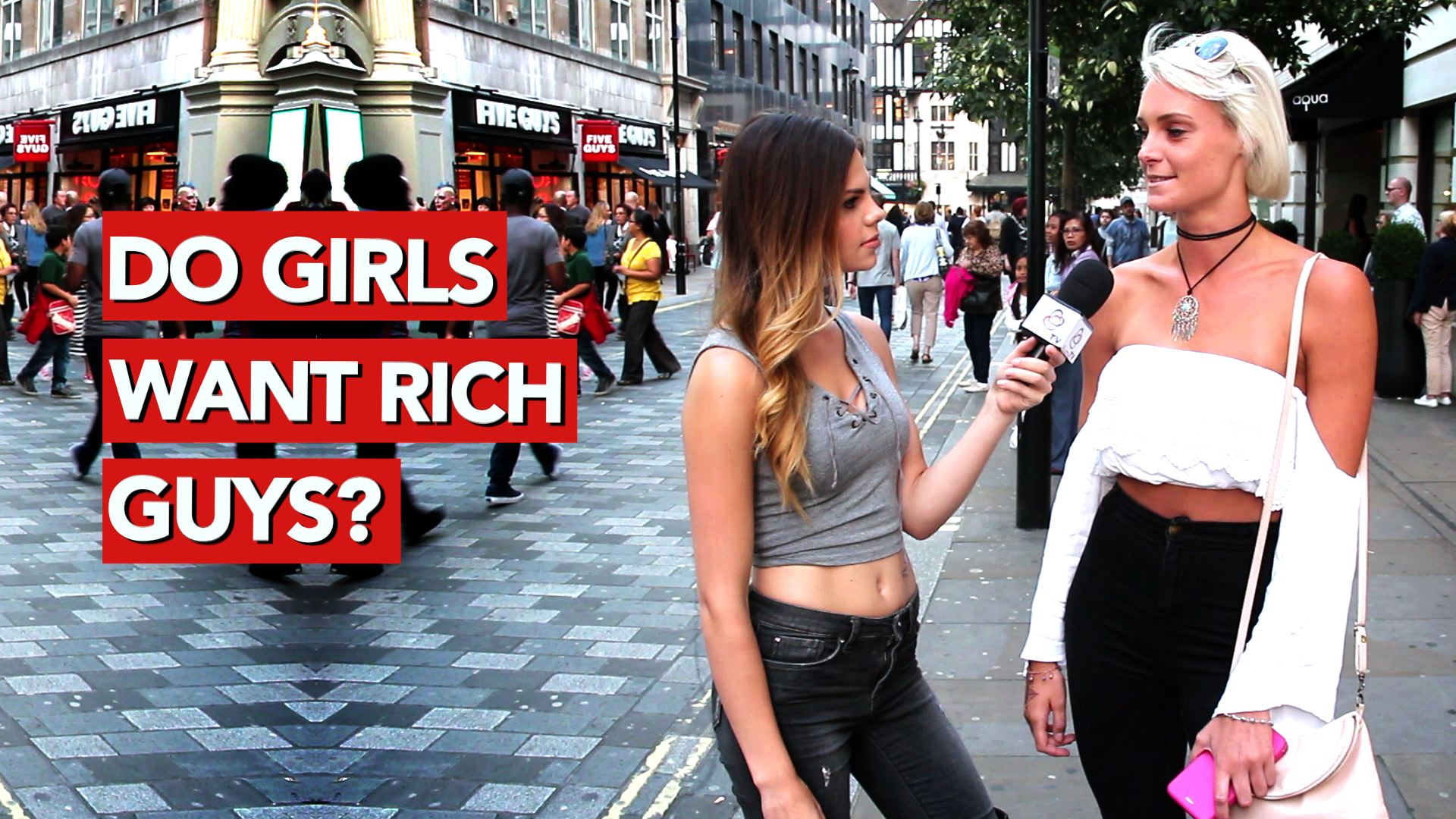 Do girls want rich guys