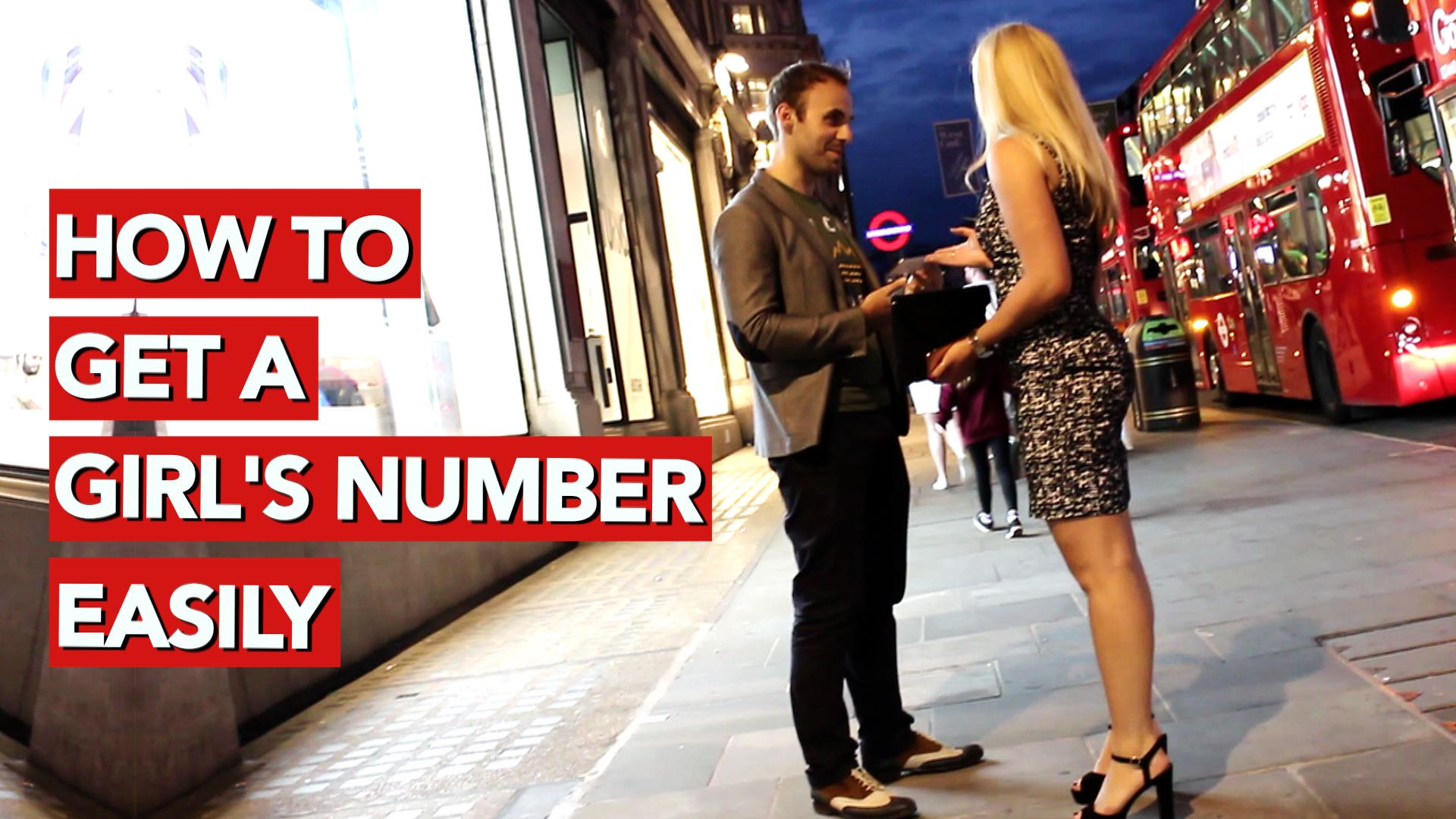 How to get a girls number easily
