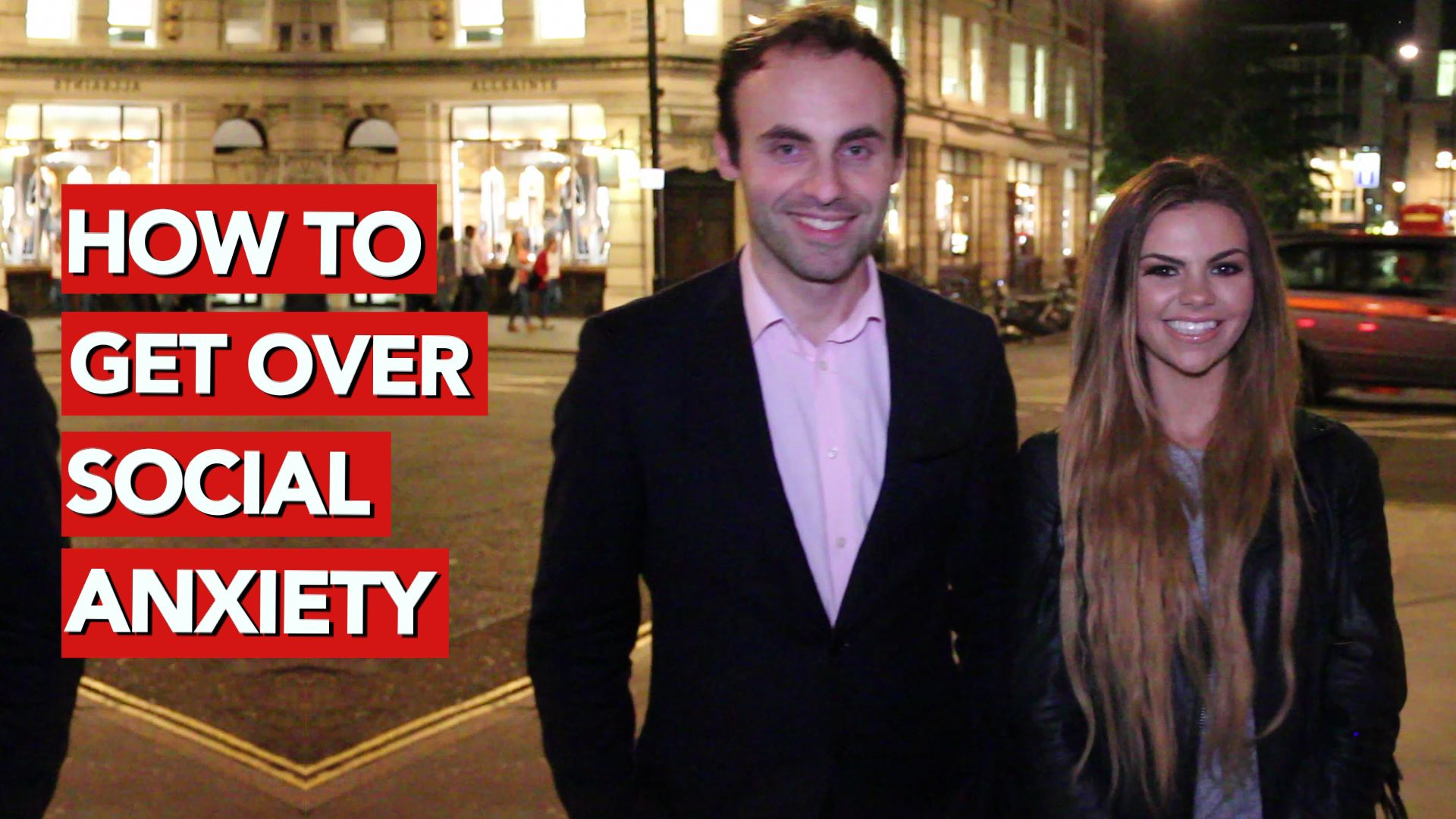 How to get over social anxiety
