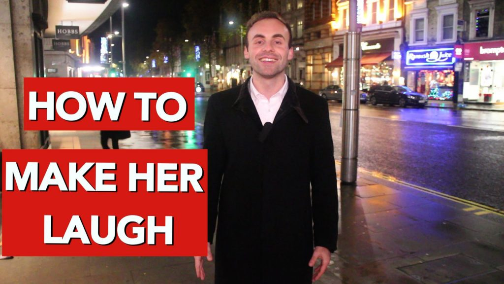 How to make a girl laugh