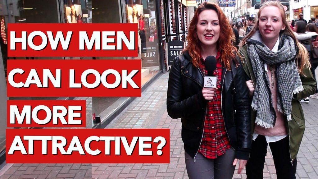 How men can look more attractive