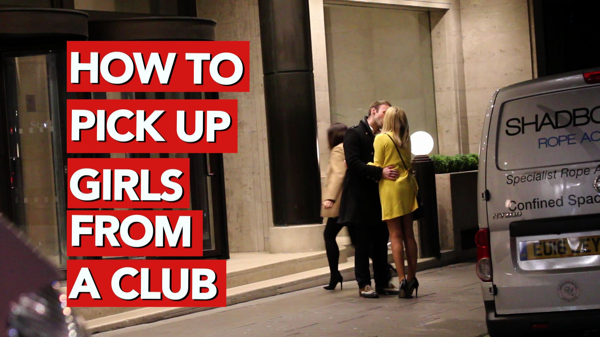 How to pick up girls from a club